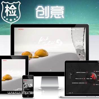 响应式创意式动态主题网站-网站开发网络设计网站